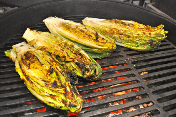 grilling romaine lettuce creates a smoky flavor that s perfect for a ...