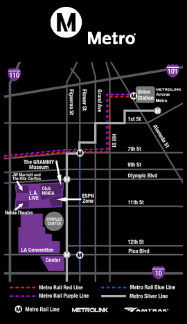Redline Metro Map Los Angeles.Public Transportation L A Live